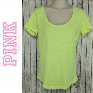 PINK Victorias Secret Neon TShirt  Sz XS-S